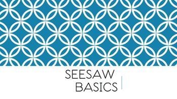 Seesaw Basics Presentation