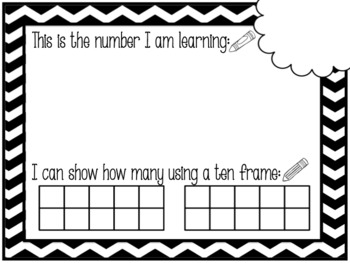 Seesaw Digital Activity: Numbers 0-20