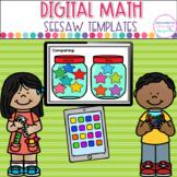 Seesaw™ Digital Math Templates   Digital Learning