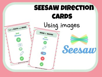 Seesaw Direction Cards