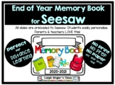 Seesaw End of Year Digital Memory Book (Kindergarten-3rd Grade)