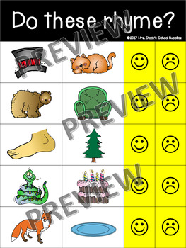 Seesaw Kindergarten Assessment Pack
