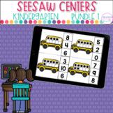 Seesaw™ Kindergarten Centers Bundle |  Distance Learning