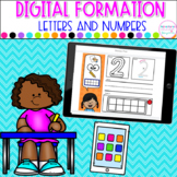 Seesaw™ Letter and Number Formation | Distance Learning