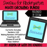 Seesaw Kindergarten Math Growing Bundle for Distance Learning
