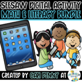 Seesaw Math & Literacy Digital Activities *DISTANCE LEARNI