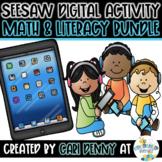 Seesaw Math & Literacy Digital Activities *DISTANCE LEARNI