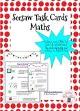 Seesaw Maths Task Cards