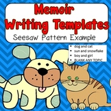 Seesaw Pattern Memoir Writing Templates