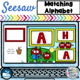 Seesaw Preloaded Alphabet Literacy Center with Apples