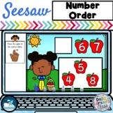 Seesaw Preloaded Apple Number Order Math Center