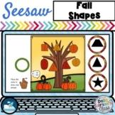 Seesaw Preloaded Fall Leaf Shapes