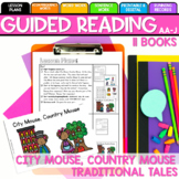Seesaw Preloaded/Printable City Mouse, Country Mouse Guided Reading Levels AA-J