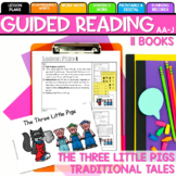 Seesaw Preloaded/Printable The Three Pigs Guided Reading Levels AA-J