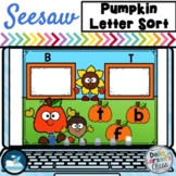 Seesaw Preloaded Pumpkin Alphabet Sort