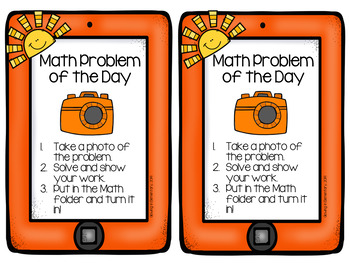 Math Problem of the Day for Seesaw