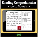 Seesaw Reading Comprehension - Long Vowel Split Digraphs Passages - 3 Levels