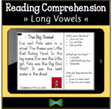 Seesaw Reading Comprehension - Long Vowel Split Digraphs -