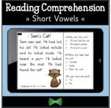 Seesaw Reading Comprehension Templates - Short Vowel Passa