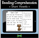 Seesaw Reading Comprehension - Short Vowel Passages - Onli