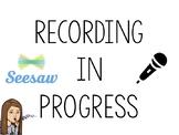 Seesaw Recording Studio Sign