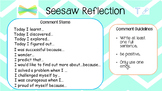 Seesaw Reflection comment helpers