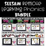 Seesaw Activities Phonics Bundle Distance Learning