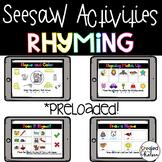 Seesaw Rhyming Activities