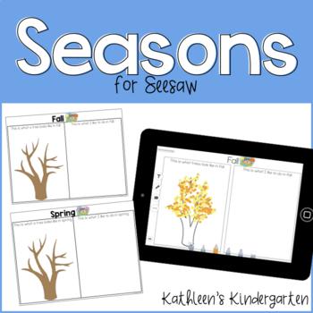 Seesaw Seasons Templates