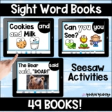 Seesaw Sight Word Books Growing Bundle Distance Learning