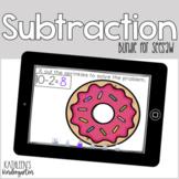 Seesaw Subtraction Activity Bundle