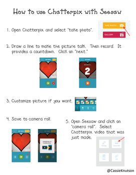 Seesaw and Chatterpix