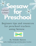 Seesaw for Preschool: Beginner Tips and Resources for Pres