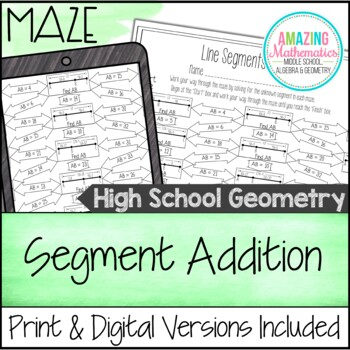 Segment Addition Maze