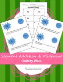 Segment Addition & Midpoint: Gallery Walk