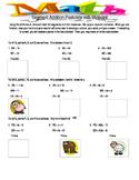 Segment Addition White Board Activity
