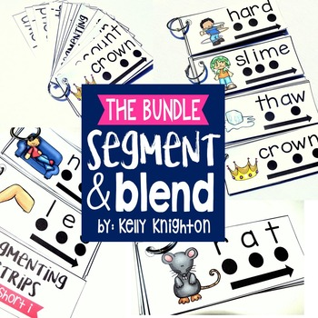 Segment And Blend Short and Long Vowel BUNDLE