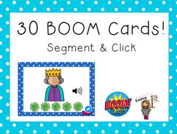 Segment & Click BOOM Cards  +PLUS bonus Clip Cards!