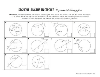segment lengths in circles chords secants and tangents. Black Bedroom Furniture Sets. Home Design Ideas