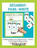 Segment-Park-Write - Differentiated Segmenting Fun To Meet Common Core
