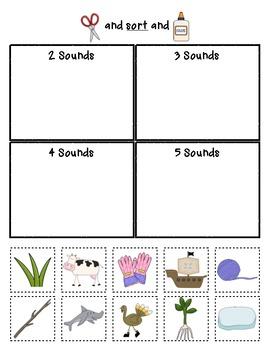 Segment Sorts  {Phonemic Awareness Sorting Series, Set #3}