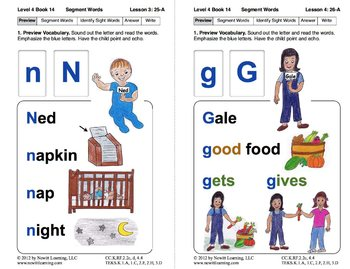 Segment Words: Lesson 3, Book 14 (Newitt Decoding Series)