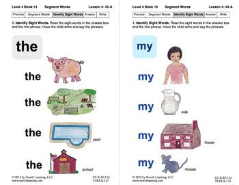 Segment Words: Lesson 4, Book 14 (Newitt Decoding Series)