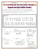 Segment Addition and Angle Addition Postulates Thanksgiving Riddle Worksheet