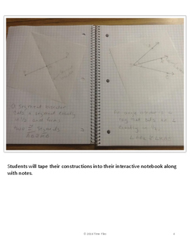 Segment and Angle Bisector Constructions