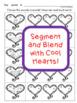 Valentines Day cvc Words Segmenting Worksheets February
