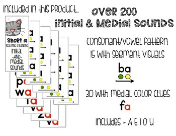 Segment and Blending Initial Medial Sounds