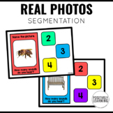 Segmentation Boom Cards with Real Photos