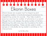 Segmentation Practice with Elkonin Boxes (Level 1)