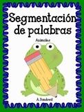 Segmentation of Animal Words in Spanish